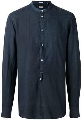 Massimo Alba バンドカラーシャツ
