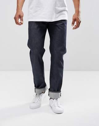 Levi's Levis 501 Original Straight Fit Jeans New Day Indigo Selvedge