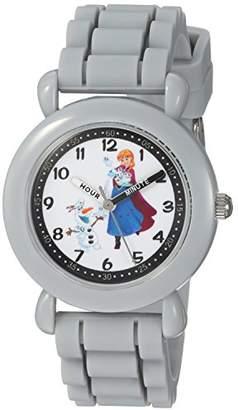 Disney Girls Frozen Anna Analog-Quartz Watch with Silicone Strap