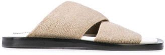Proenza Schouler elasticated slides