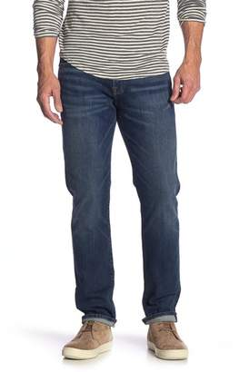 "Lucky Brand 121 Heritage Slim Fit Jeans - 30-34"" Inseam"