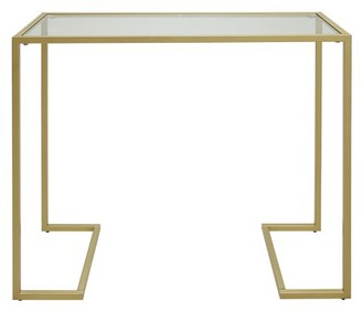 Carolina Chair and Table Monaco Glass Top Console Table
