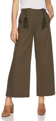 1 STATE 1.STATE Lace-Up Wide-Leg Pants