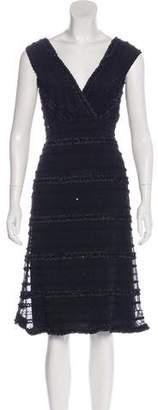 Tadashi Shoji Sleeveless Midi Dress