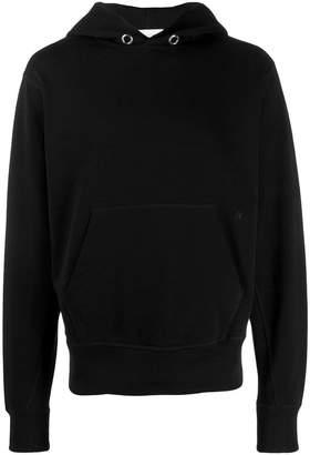 Helmut Lang basic long sleeve hoodie