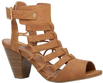 Call it SPRING Goba Cut-Out Mid-Heeled Sandals