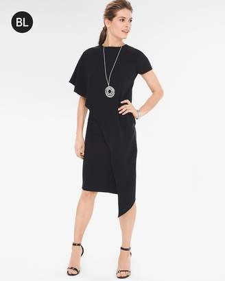 Black Label Layered Flounce Dress