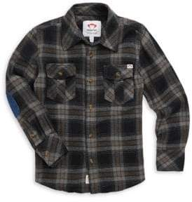 Appaman Little Boy's& Boy's Flannel Shirt