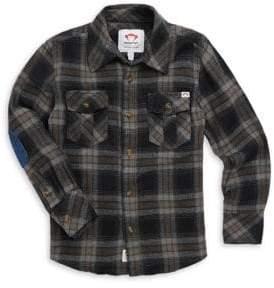 Appaman Little Boy's& Boy's Flannel Shirt