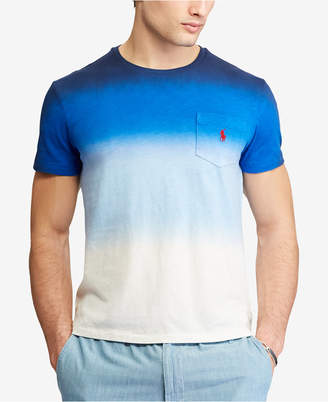 Polo Ralph Lauren Men's Big & Tall Classic Fit Ombre Cotton T-Shirt