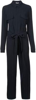 Ganni pinstripe boiler suit