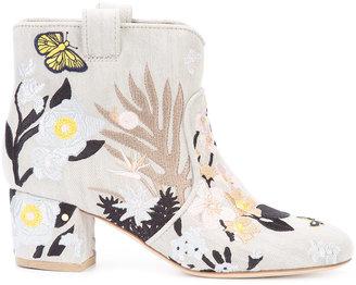 Laurence Dacade 'Belen' denim boots $930 thestylecure.com