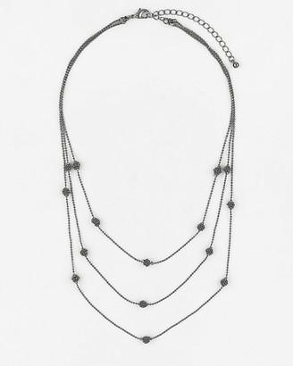 Le Château Multi-Row Collarbone Necklace
