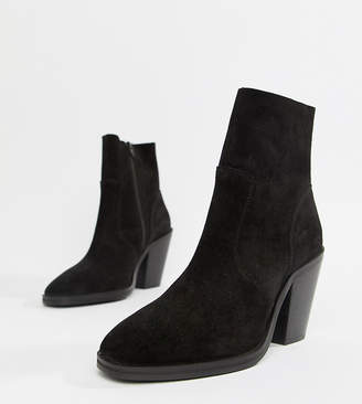 Asos DESIGN Espresso suede ankle boots