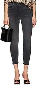 Frame Women's Ali High Rise Cigarette Jeans - Gray