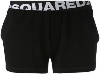 DSQUARED2 logo band shorts