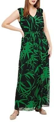 Studio 8 Lana Palm Print Maxi Dress, Green