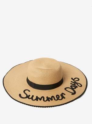 8efa367c Dorothy Perkins Womens Summer Days Floppy Hat