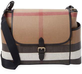 Burberry Plaid Diaper Bag