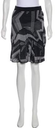 Missoni Patterned Flare Skirt