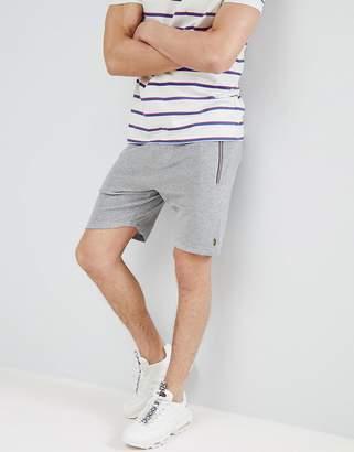 Luke Sport Monks Towelling Shorts In Grey Marl Suit 2