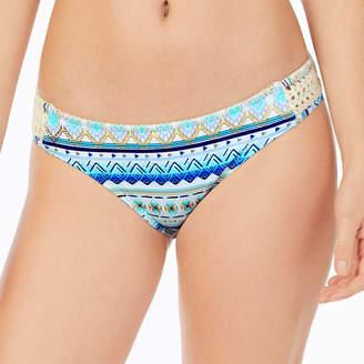 Arizona Geometric Hipster Swimsuit Bottom-Juniors