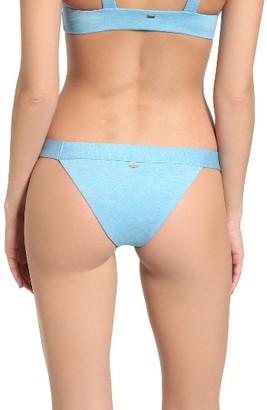 Junior Women's Rip Curl 'Beach Chicks' Stripe Reversible Bikini Bottoms $39.50 thestylecure.com