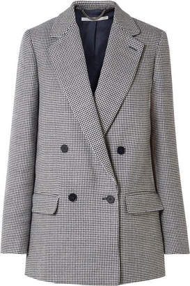 Stella McCartney Milly Oversized Wool-tweed Blazer - Navy