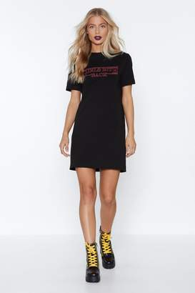 Nasty Gal Girls Bite Back Tee Dress