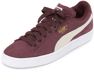 PUMA Classic Lace Up Sneakers $65 thestylecure.com