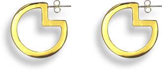 Liza Schwartz Jewelry Pac-Man Hoop Earrings