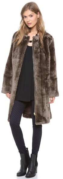 Marc by Marc Jacobs Hudson Shearling Jacket