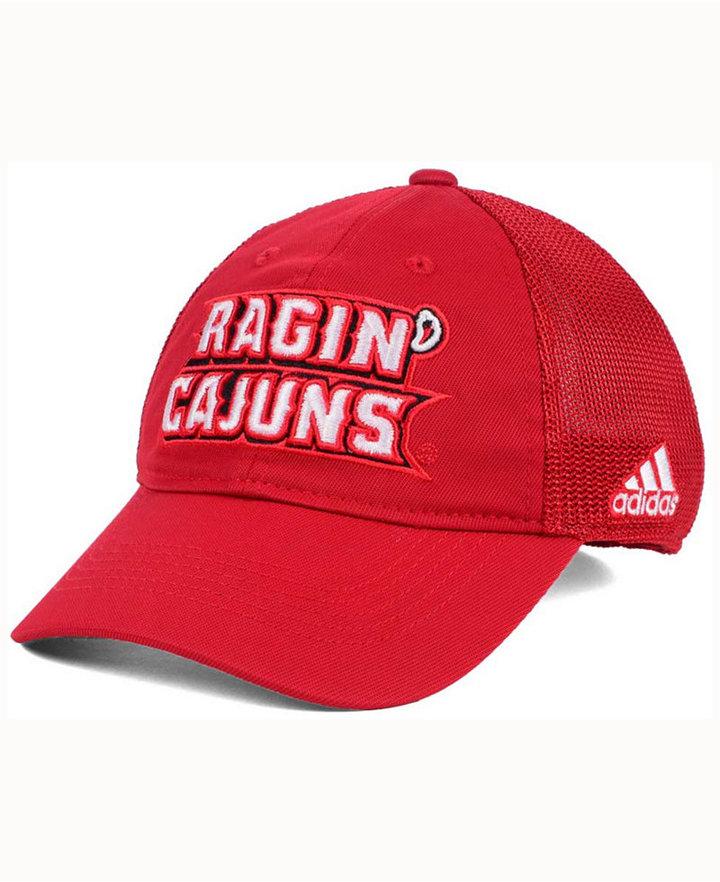 adidas Louisiana Ragin' Cajuns Coach Meshback Flex Cap