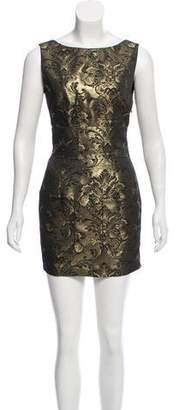 Pierre Balmain Brocade Mini Dress