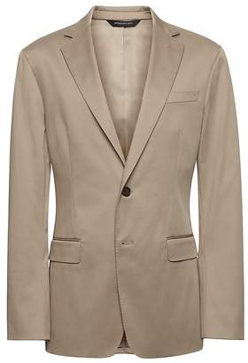 Banana Republic Slim Rapid Movement Suit Jacket