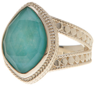 Anna Beck Sterling Silver Split Band Ring $240 thestylecure.com