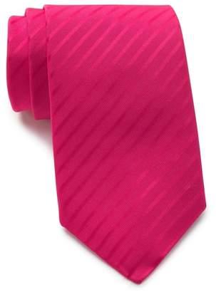 Thomas Pink Silk Waltham Stripe Tie