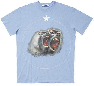 Givenchy Monkey Print Crewneck T-Shirt