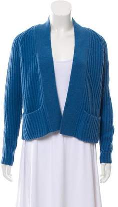 Allude Cashmere Open Front Cardigan
