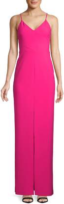 LIKELY Brooklyn Front Slit Gown