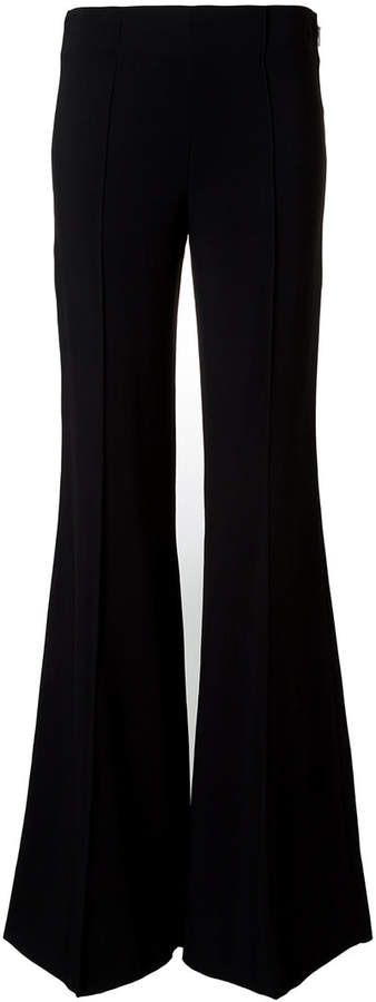 Emilio Pucci flared pleated trousers