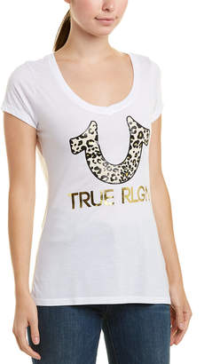 3631b3da29 True Religion Leopard Horseshoe T-Shirt