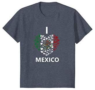 I Love Mexico Heart Mexican cinco de mayo T-Shirt