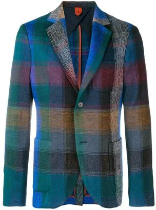 Missoni check blazer