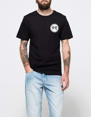 Soulland Ribbon T-Shirt in Black