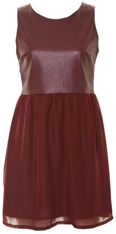 Glamorous Burgundy Dress