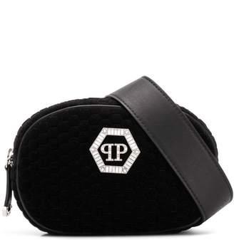 Philipp Plein zipped logo belt bag
