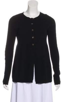 Vince Cashmere Button-Up Cardigan