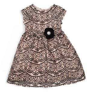 Little Girl's Floral Lace Dress
