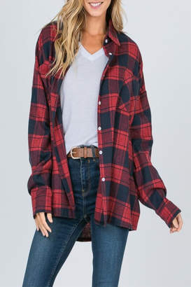 Raw Edge Timber Flannel